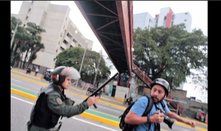 Venezuela Exigen Explicaciones Por Las Agresiones Detenciones Y Robos A Periodistas