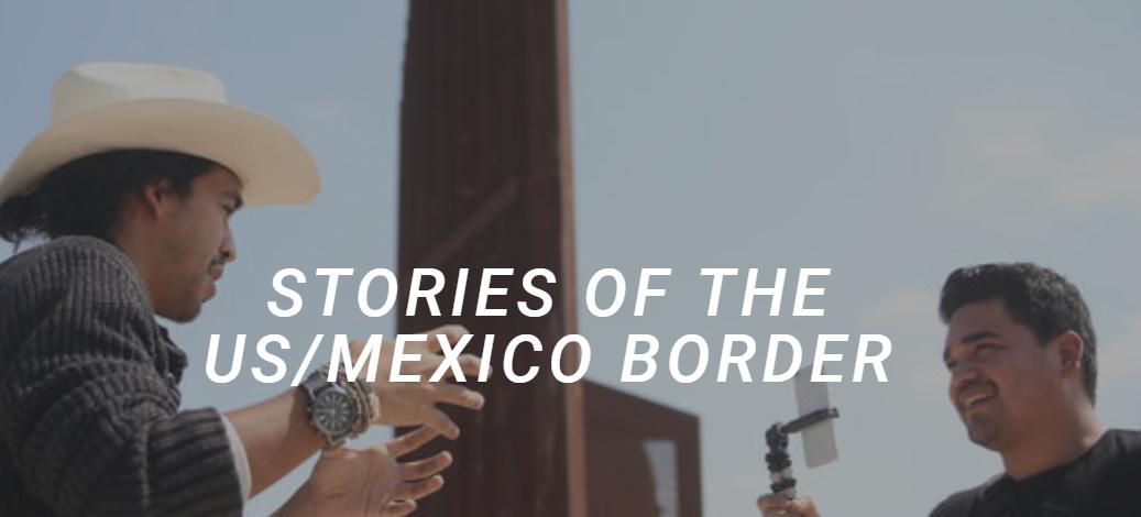 e30966924 Dos hermanos que crecieron cerca a la frontera entre Estados Unidos y México  están ayudando a contar las historias de numerosas personas en la región.