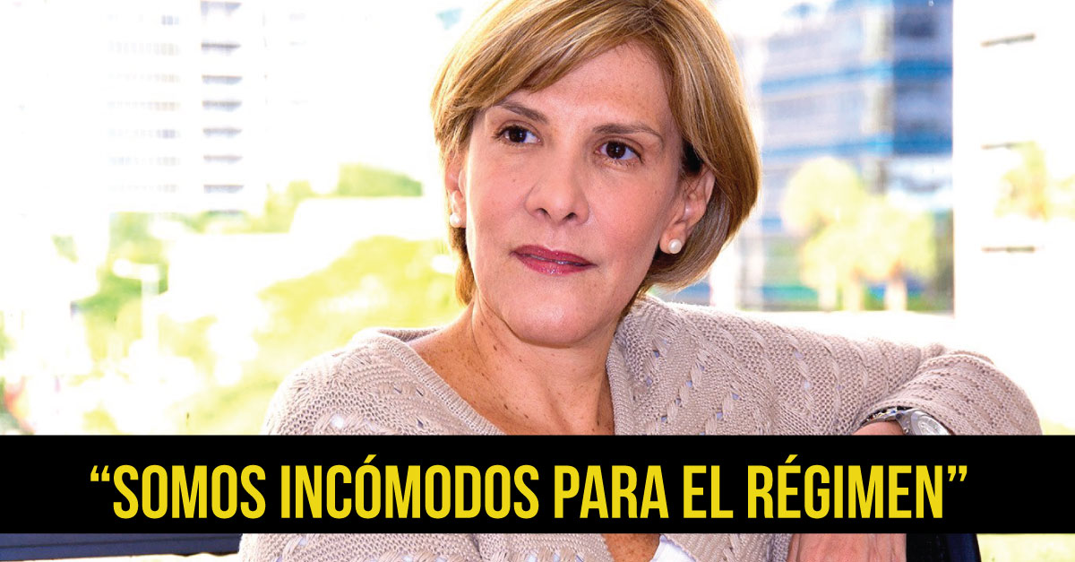"Periodista venezolana Nitu Pérez Osuna: ""Me anulan el pasaporte porque estamos en dictadura"""