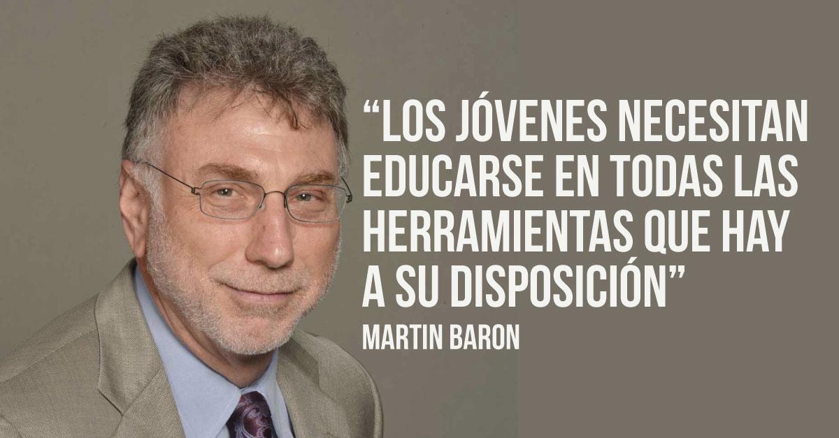 Consejos de Martin Baron, editor ejecutivo en The Washington Post, para los jóvenes