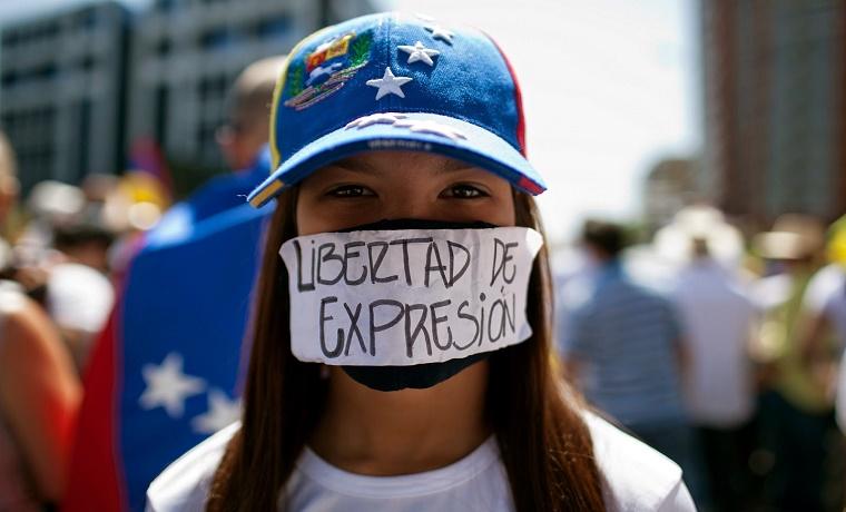 Venezuela: Periodistas marcharon en contra de agresiones en protestas