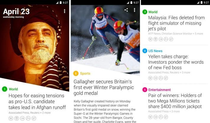 Aplicación de noticias visuales de Yahoo cerrará a fin de mes