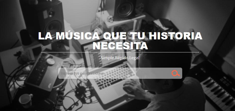 Filmtrax, una apuesta con contenido musical para videos de medios digitales