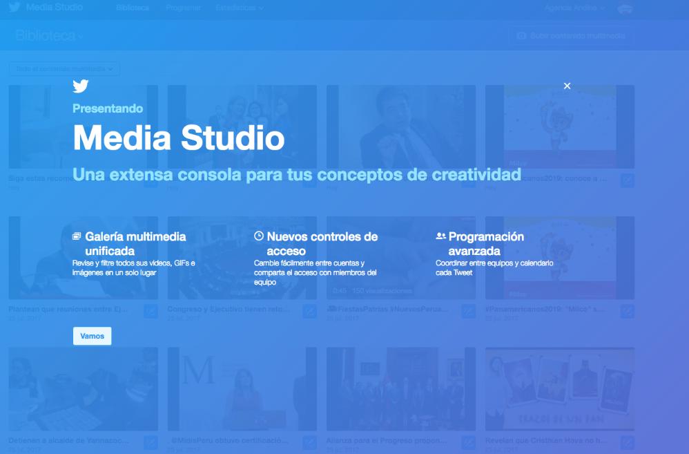 Media Studio de Twitter se extiende en América Latina