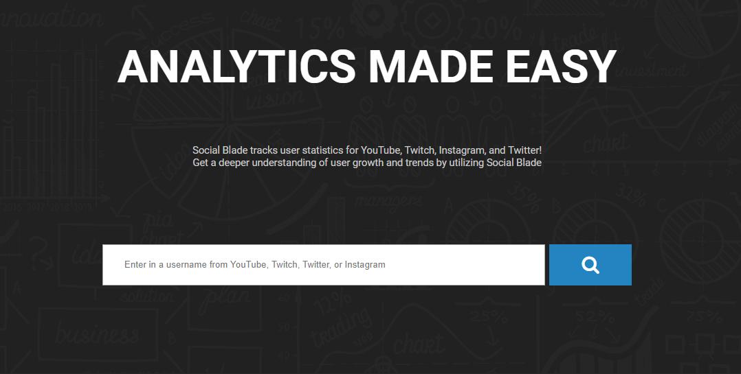Social Blade, analiza la influencia de tu marca o medio digital