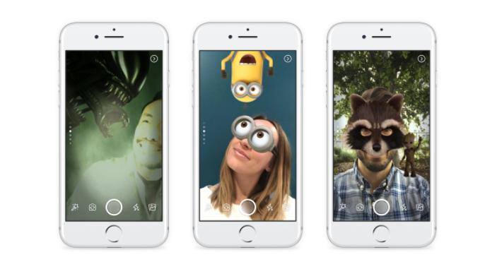 Estas son las nuevas características de la cámara de Facebook para las historias