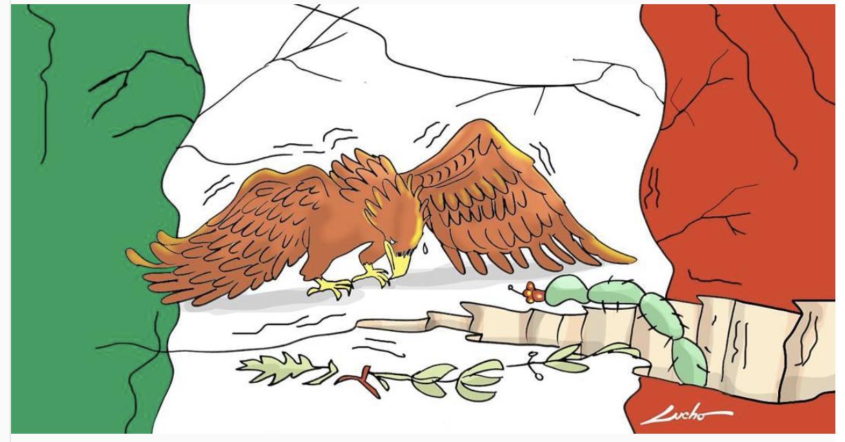 10 ilustraciones en apoyo a México en medio a la desgracia