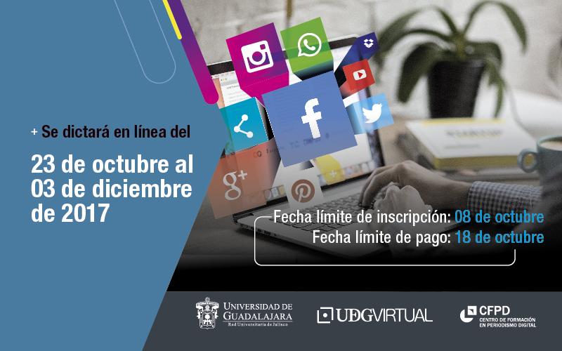 Curso online Gestión de comunidades y redes sociales para periodistas