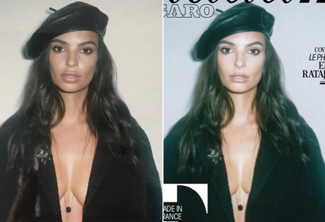 Revista modifica senos de modelo con photoshop y a pesar de las críticas solo guarda silencio