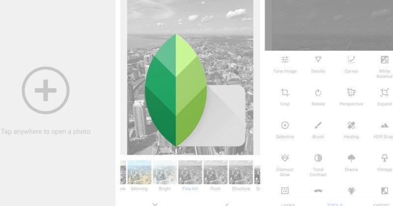 Esto es lo nuevo de Snapseed para Android e iOS