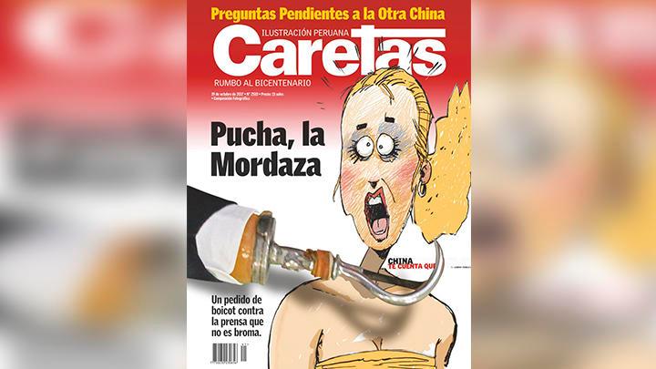 Perú: Revista Caretas responde a pedido de boicot del fujimorismo con esta polémica portada