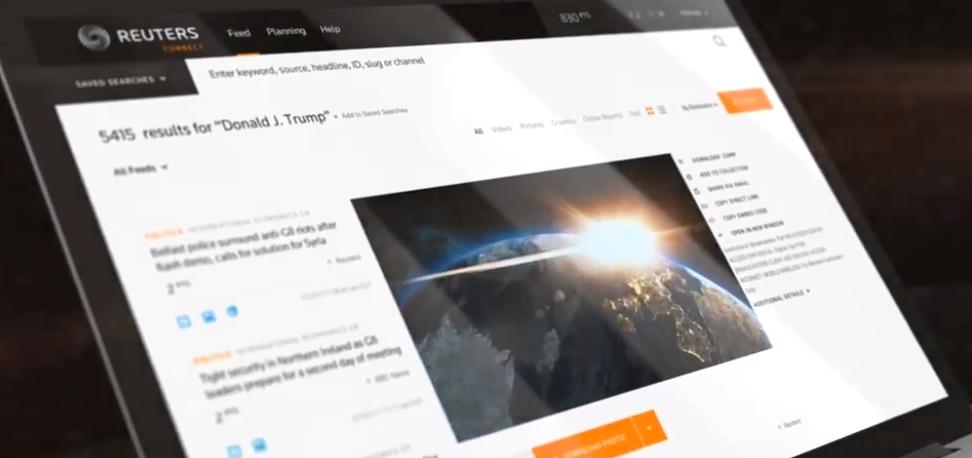 Reuters presenta nuevo servicio de video en vivo y esto debes saber