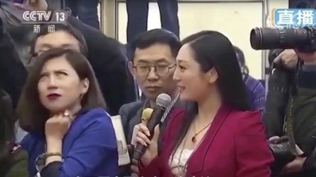 Periodista china se hace viral por cuestionar al régimen comunista con solo una mirada