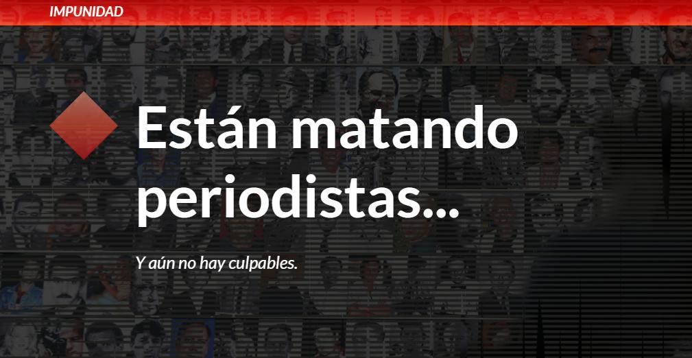 """""""Historias de crímenes contra periodistas"""", un especial de IPYS y UNESCO para denunciar la impunidad"""