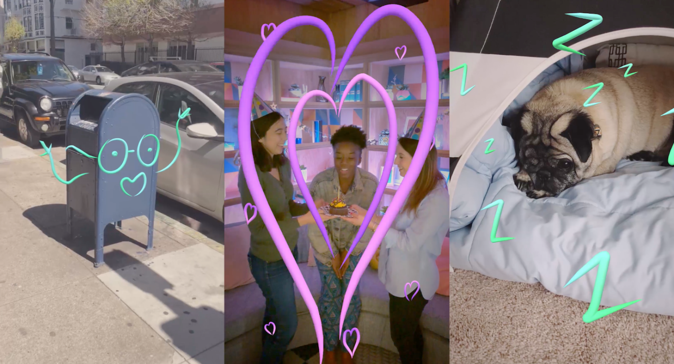 Facebook Stories incorpora estos efectos de Instagram