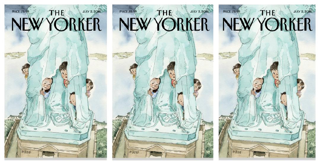 La poderosa y conmovedora portada de The New Yorker sobre los niños migrantes