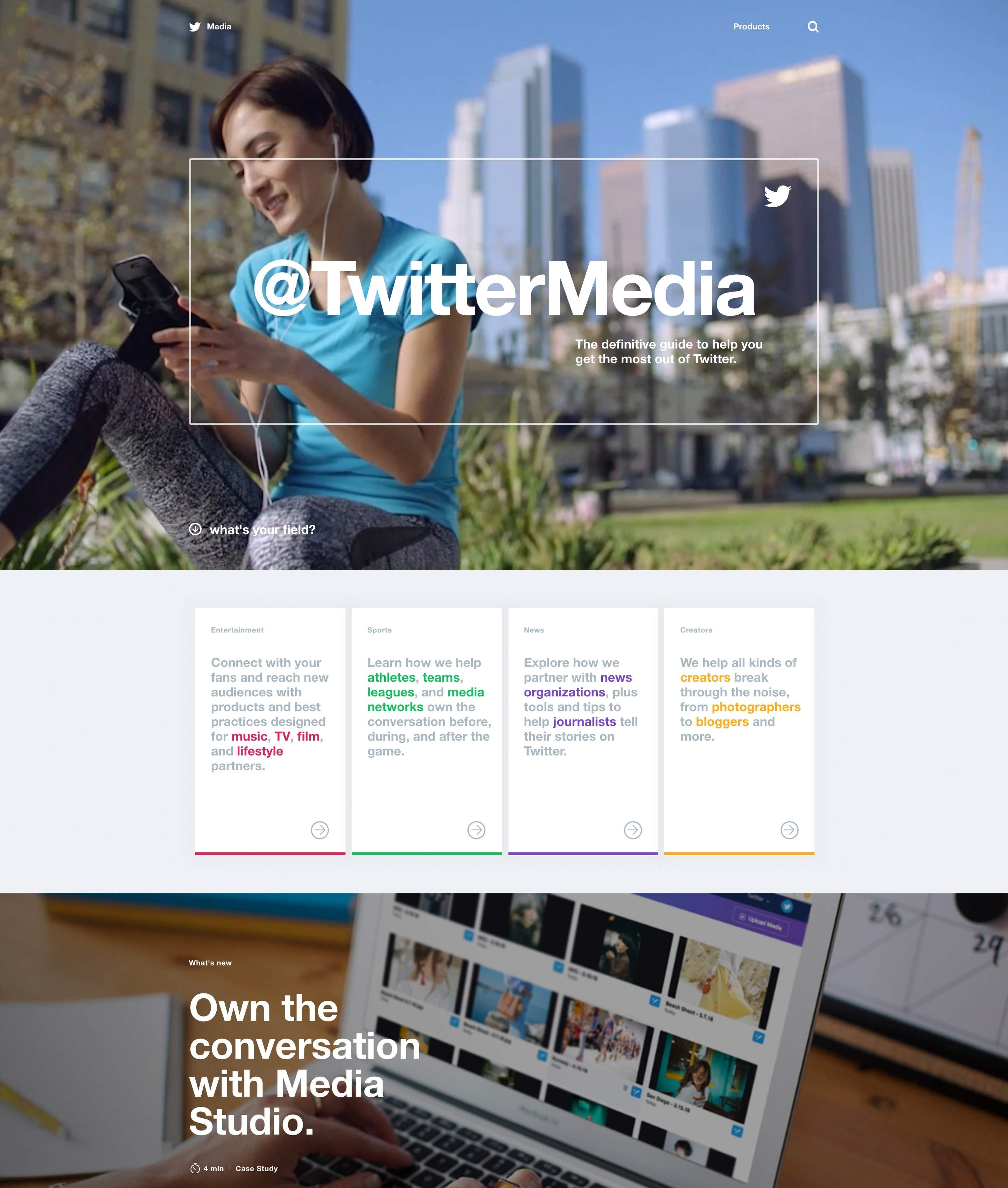 Twitter lanza una web dedicada a ayudar a medios y periodistas