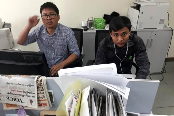 Birmania: Periodistas de Reuters aseguran que fueron encapuchados y privados de sueño