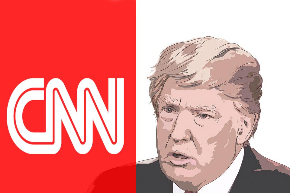 CNN demanda a Trump por quitarle credencial a periodista