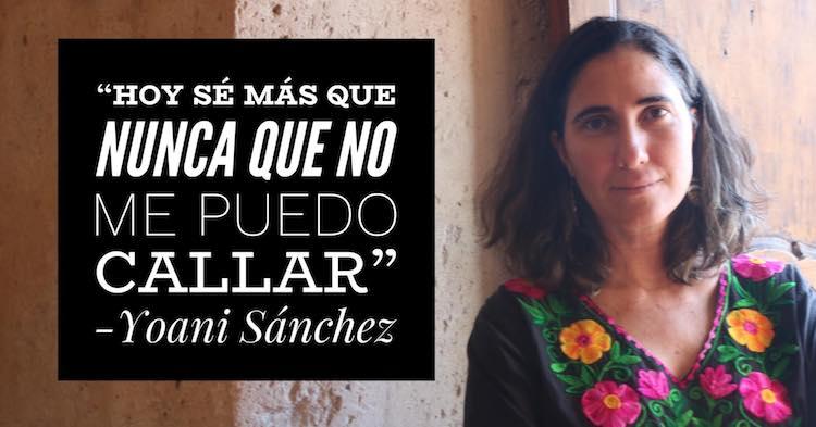 """Yoani Sánchez: """"Con Granma no hay que competir ya que es el antiperiodismo"""""""