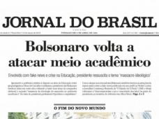 Histórico diario brasileño abandona otra vez el papel