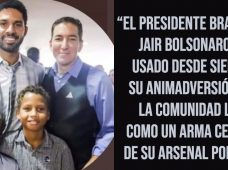 Periodista Glenn Greenwald revela que Bolsonaro pretende hostigar a su esposo y sus dos hijos