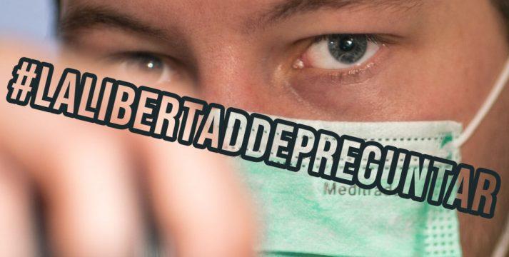 #LaLibertaddePreguntar: Periodistas de España piden replantear ruedas de prensa con el Gobierno