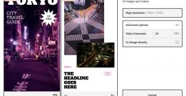Projector, una herramienta para crear hermosas historias en Instagram y presentaciones