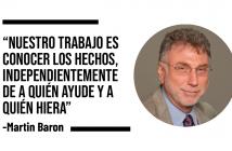 10 frases de Martin Baron para reflexionar sobre el periodismo