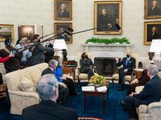 El falso reportero que se infiltró en el cuerpo de prensa de la Casa Blanca